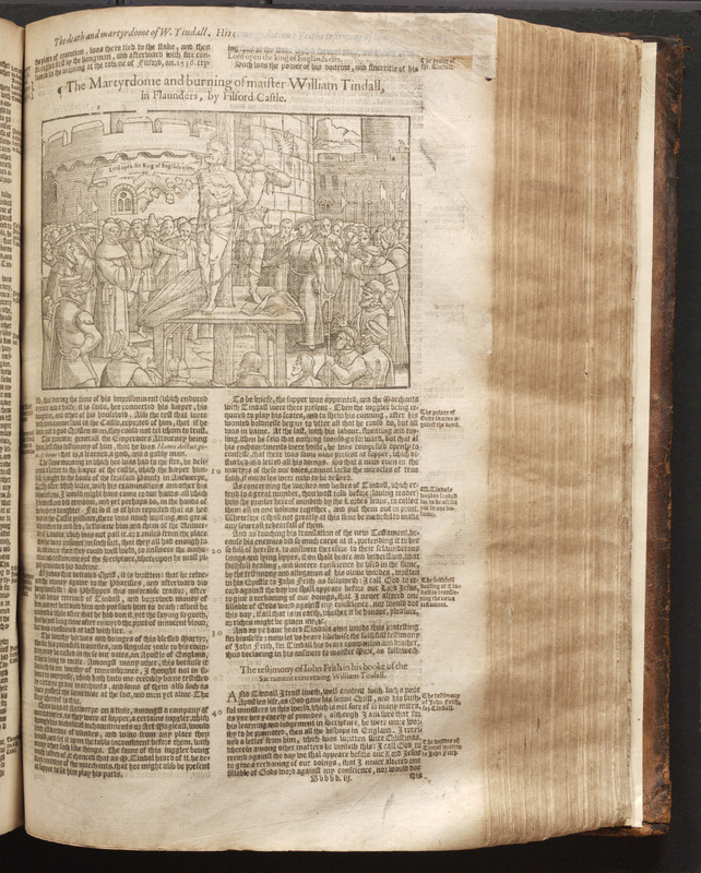 [Actes and monuments of matters most speciall and memorable, happening in the church, with an vniuersall history of the same